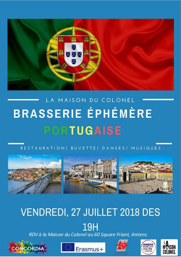2018_Affiche brasserie éphémère portugaise