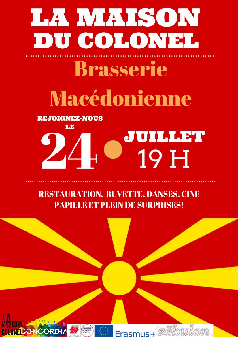brasserie macédonienne